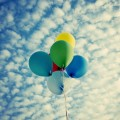 balloons-colorful-clouds-sky-flight